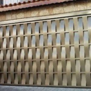 Fabrica de Portão Automático Tubular De Chapa Lisa Vila Prudente