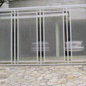 Fabrica de Portão Automático com Tela Jardins