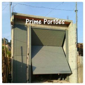 Montagem de portão industrial em São Paulo